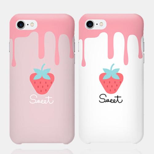 [현재분류명],갤럭시노트9 sweet 딸기 하드케이스 N960,갤럭시노트9케이스
