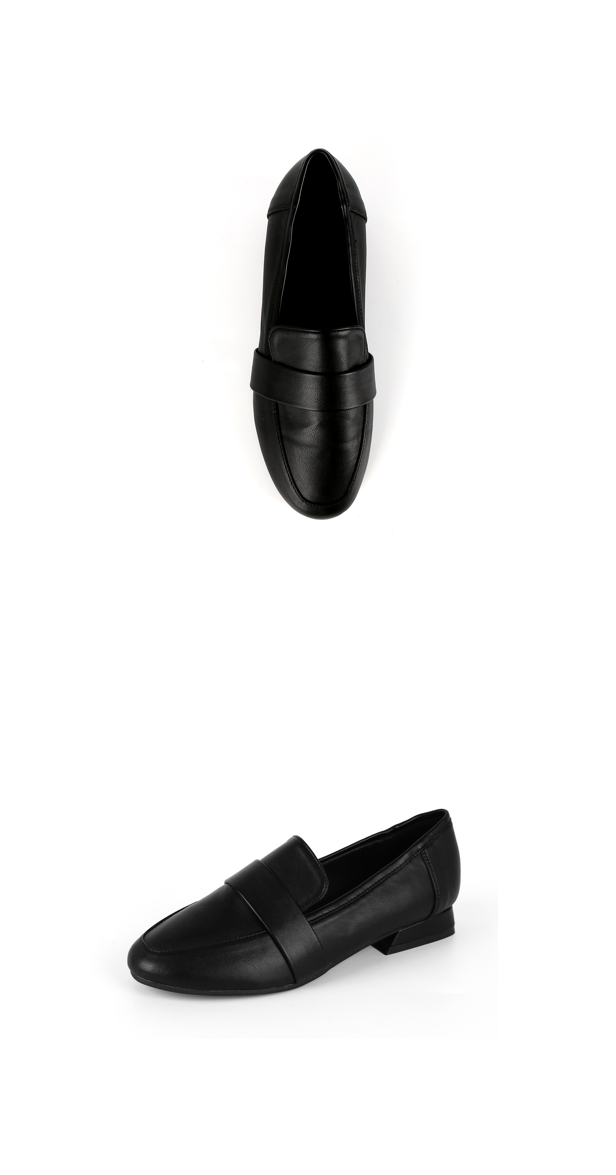 리플라(LI FLA) 19B501 black loafer