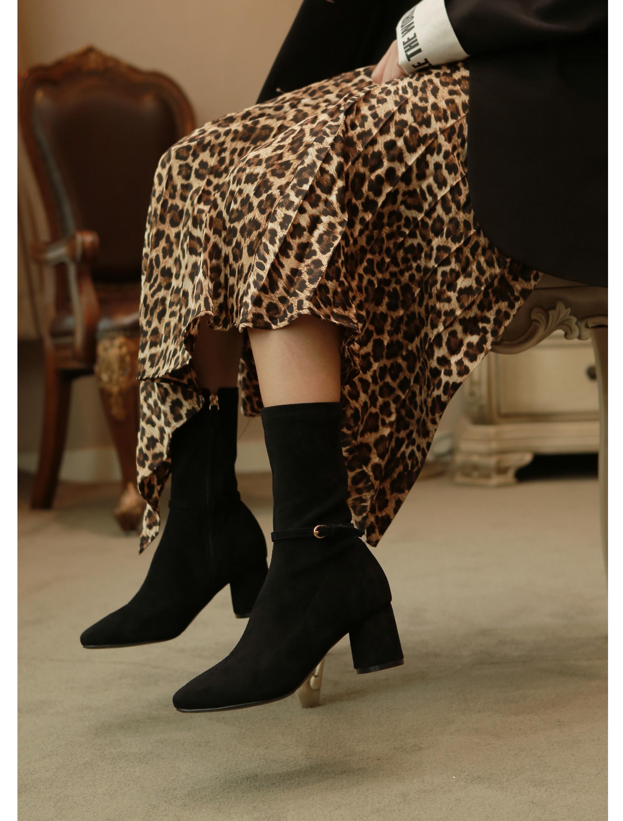 리플라(LI FLA) 19B517 black ankle