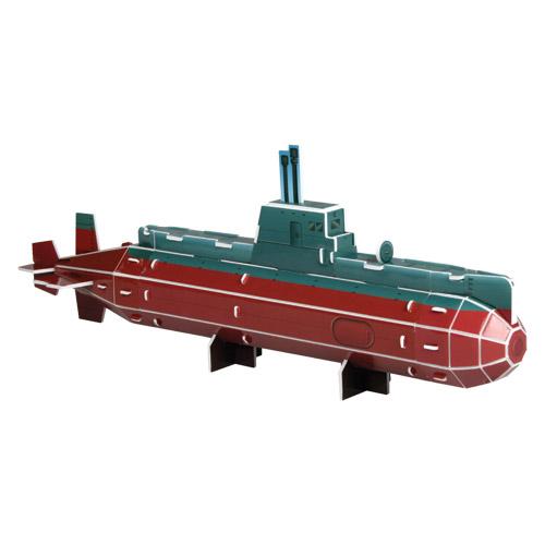 [입체퍼즐] 물 속을 누비며 항행하는 비밀병기, 잠수함