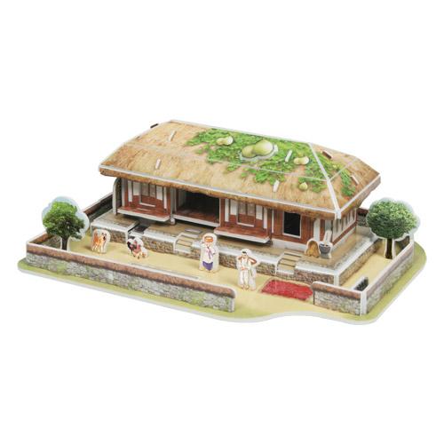 [입체퍼즐] 한국의 전통가옥, 초가집(草家)