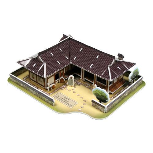 [입체퍼즐] 한국의 전통가옥, 기와집(瓦家)