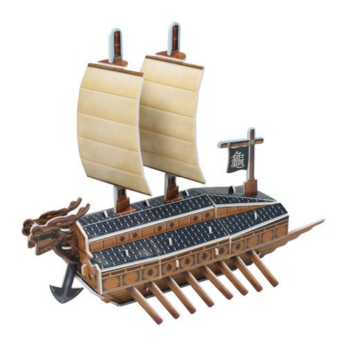 [입체퍼즐] 돌격용 철갑 전선, 거북선(龜船)