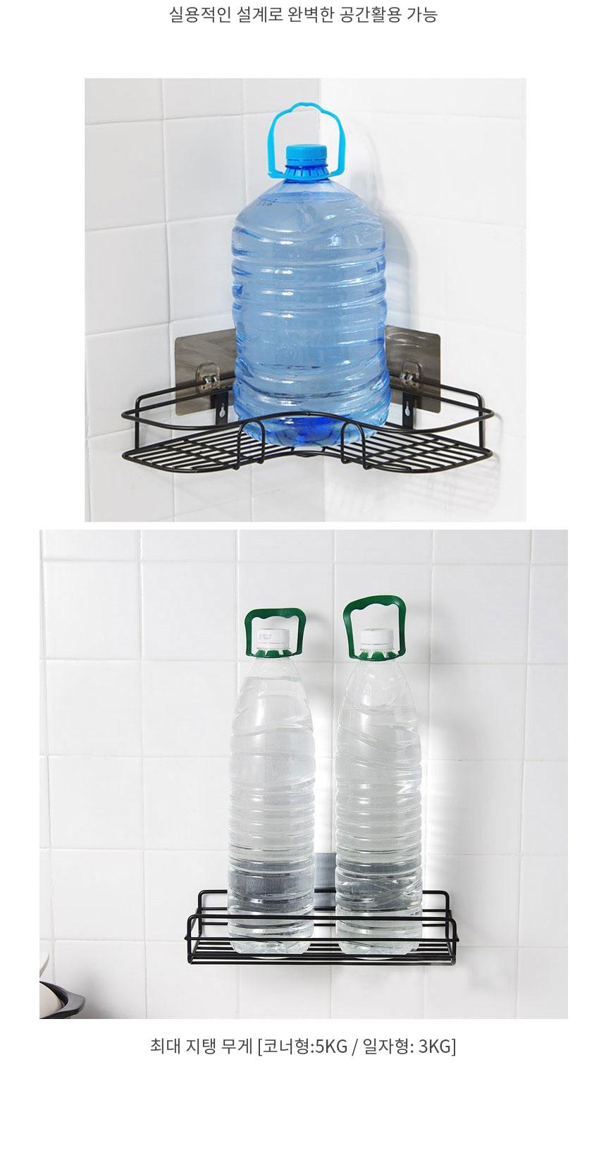 수납걸이 무타공 접착식 욕실선반 - 슈와츠코리아, 7,000원, 정리용품/청소, 욕실선반/걸이