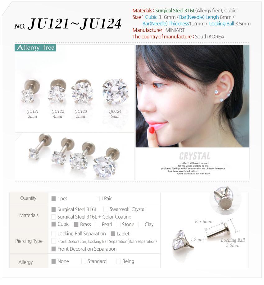 Buy Allergy Free Earrings Surgical Steel Ear Studs