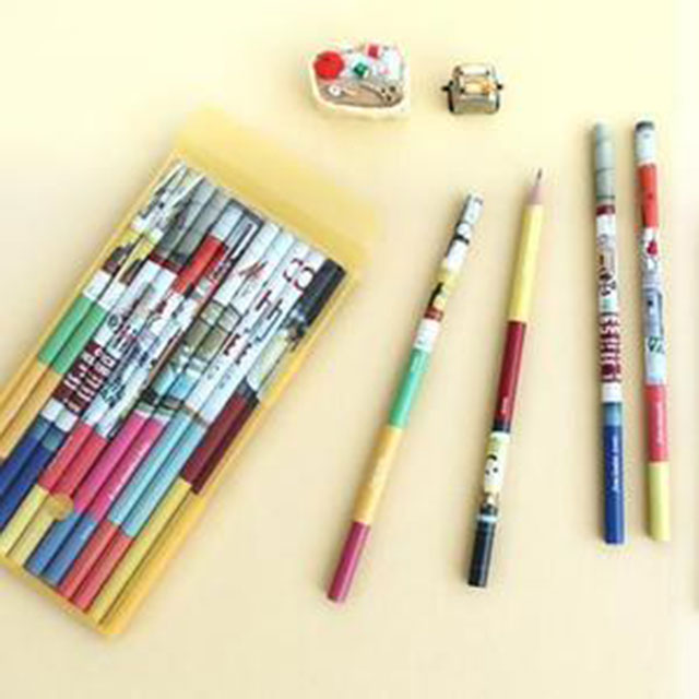 포토 펜슬 12종세트 연필세트