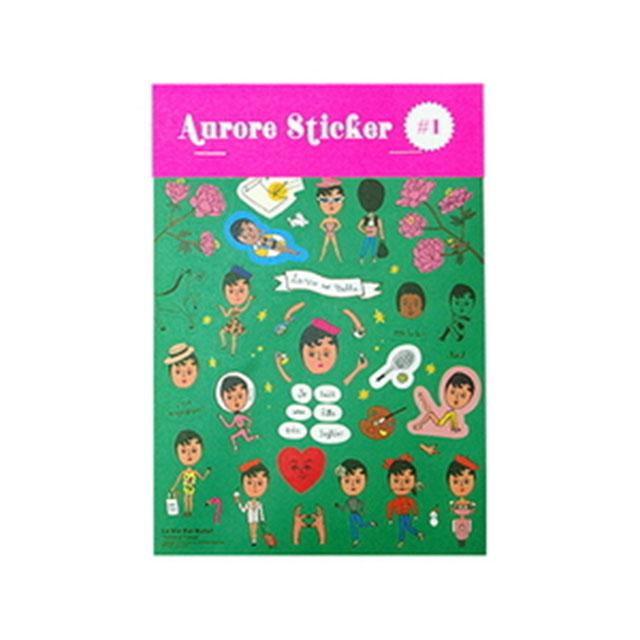 Aurore Sticker No.1 울랄라 스티커 데코스티커