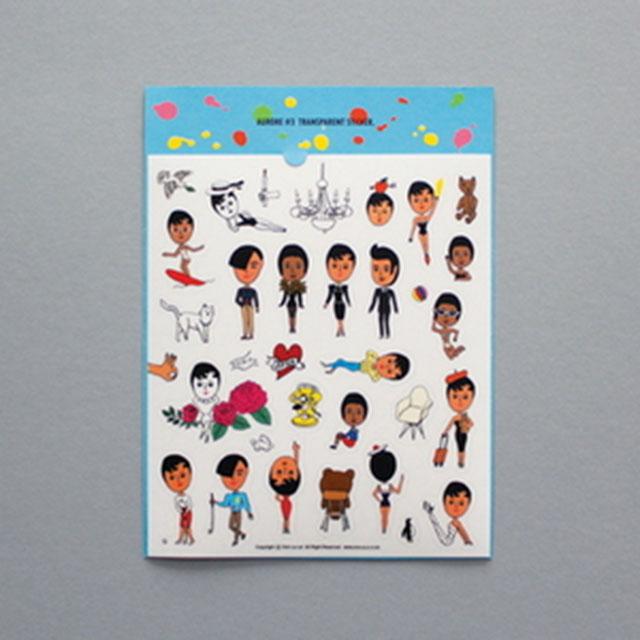 Aurore Sticker No.3 울랄라 스티커 데코스티커
