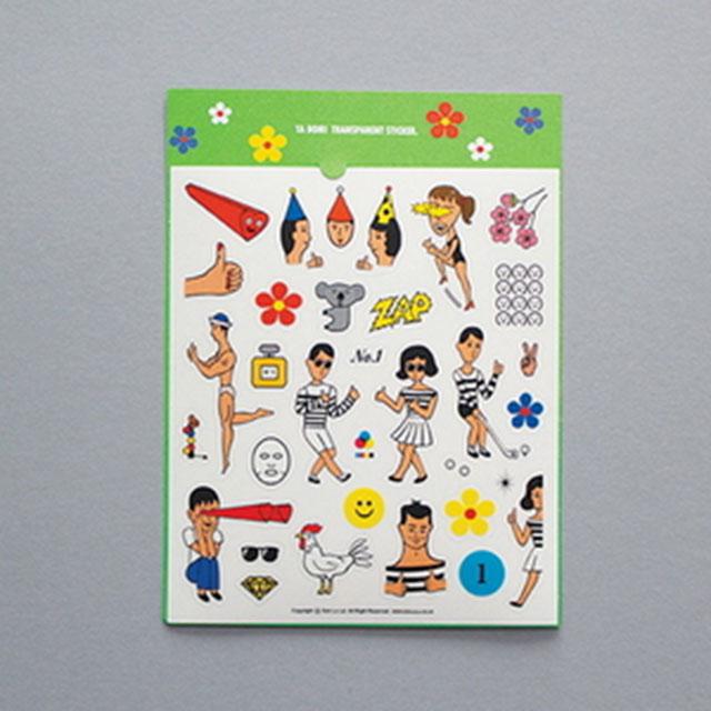 Tabon Sticker 오로르 울랄라 스티커 데코스티커