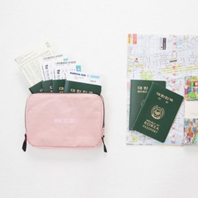 안테나샵 FAMILY PASSPORT BAG POUCH 여권 파우치