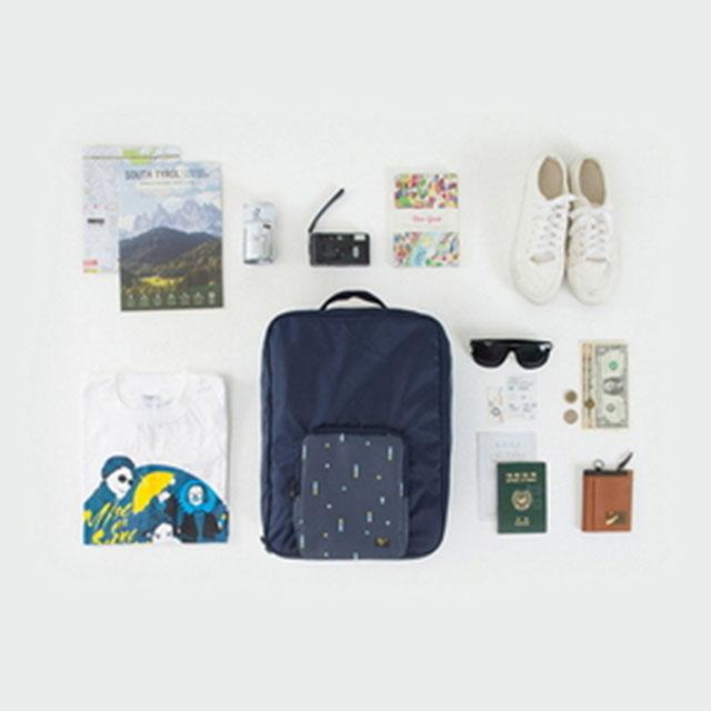 안테나샵 FOLDING TRUNK BAG 폴딩백 여행용 보조가방