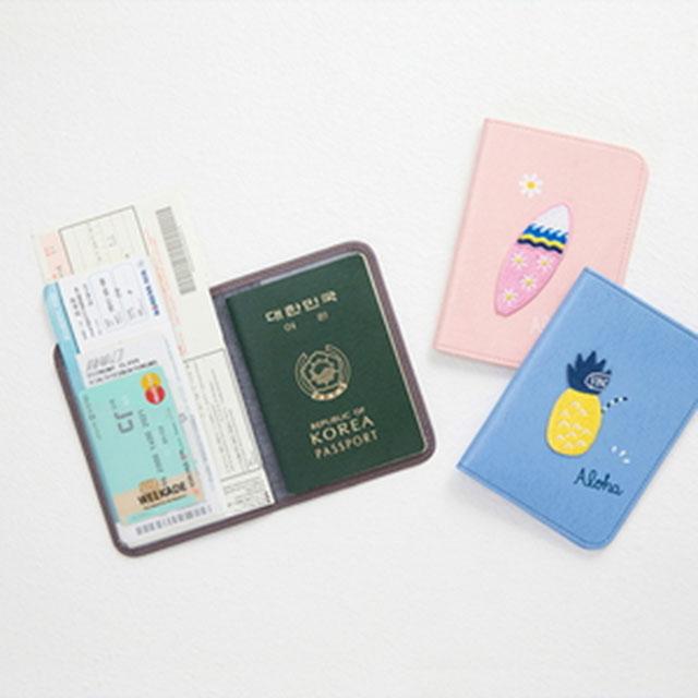 안테나샵 TROPICAL 여권 케이스 여권커버