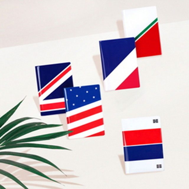 루카랩 Passport Wallet 국기 여권지갑