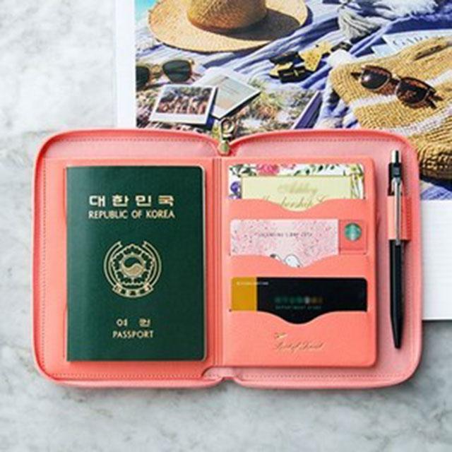 플레픽 Travel Brief Pocket 여행용 여권 지갑