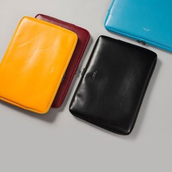 안테나샵 15형 NOTEBOOK POUCH LEATHER