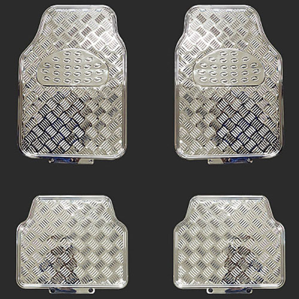 전차종공용 크롬 매트 4P 앞좌석1열+뒷좌석2열
