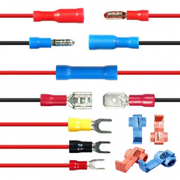 DIY용 전선 정리 커넥터 모음 전선커넥터,스카치록