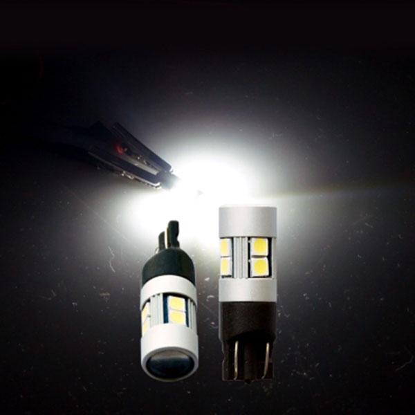 T10타입 12V/24V 겸용 3030 파워 LED전구 화이트LED