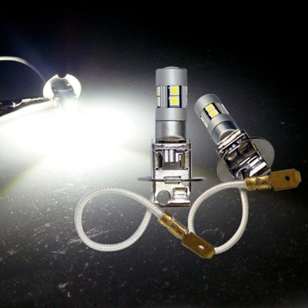 12V-24V용 H3타입 3030 파워 LED안개등(1개)