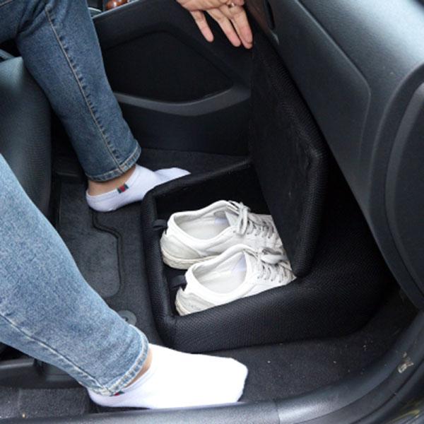 자동차량 신발보관함 발받침대