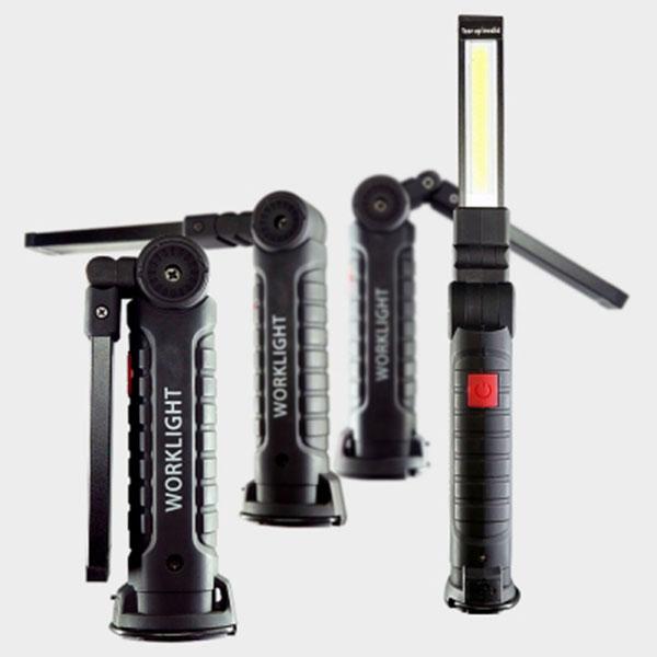 자석식 각도조절 5기능 충전식 COB LED작업등