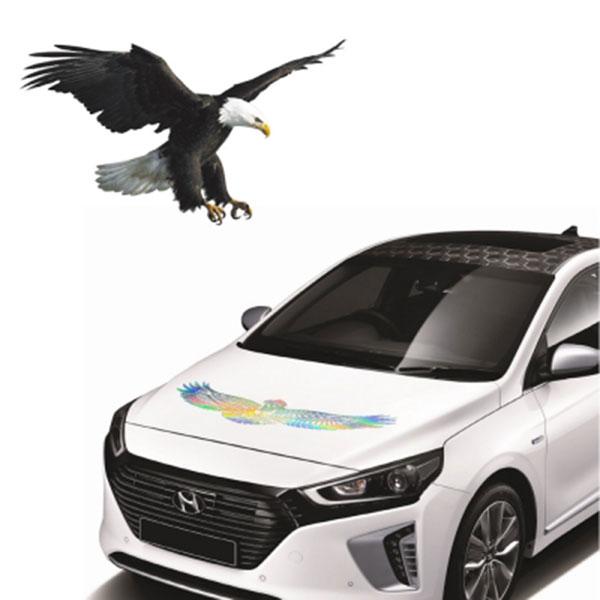동물 데칼 스티커 독수리 홀로그램