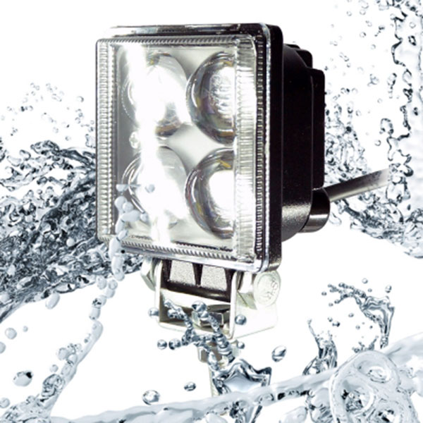 12W NO.352-1 집중형 낱개1개 12V/24V겸용 완벽방수 LED써치라이트