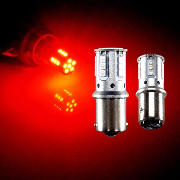12V-24V겸용 3030 21발 LED램프 레드