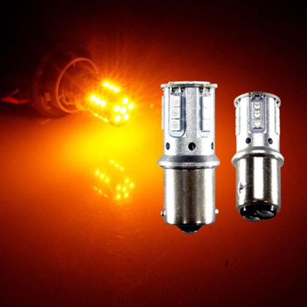 12V-24V겸용 3030 21발 LED램프 옐로우