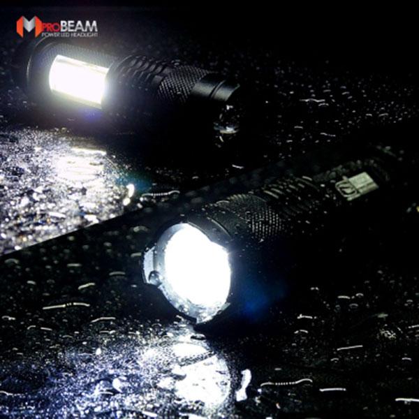 8022C Q5 LED랜턴 후레쉬 손전등/자전거전조등 캠핑등 작업등 용도