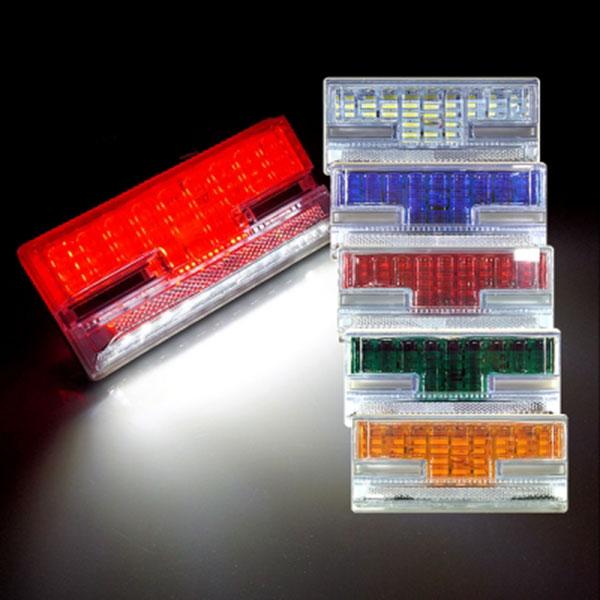 24V전용 2WAY T15(H형) LED차폭등 2개 1세트 차량폭인식