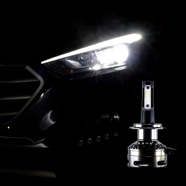 12V-24V겸용 LED전조등 H7타입 엠프로빔블랙에디션V2 2개 1세트