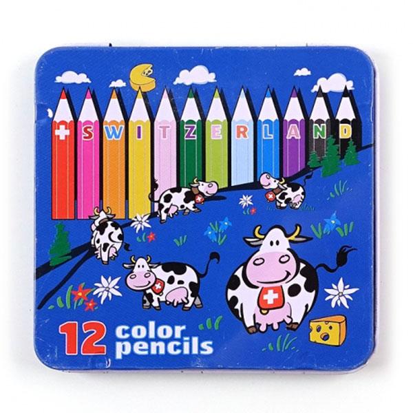 1500 12색틴케이스색연필세트 D-7
