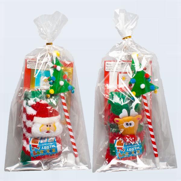 [05523]6000크리스마스산타양말(소)선물세트