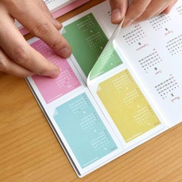 플레픽 2019 Calendar Memo Book