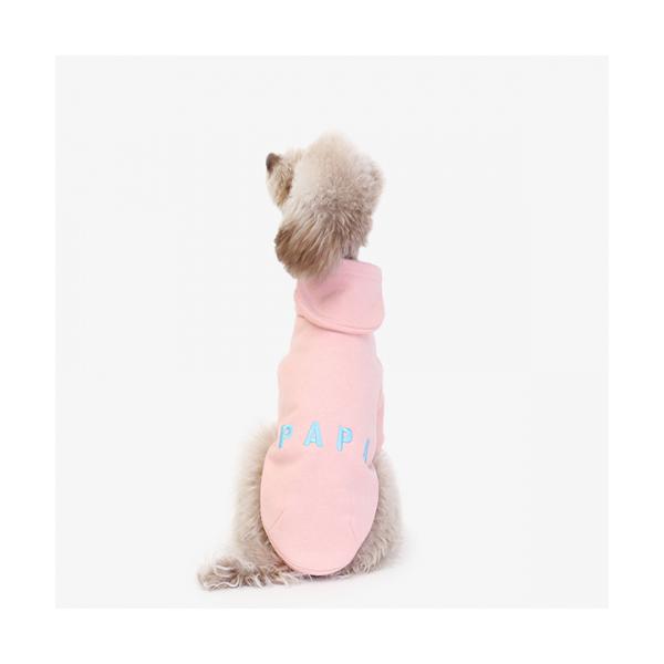 에이후디 핑크 강아지옷 애견의류