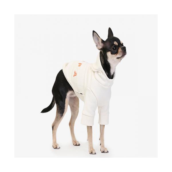 에이후디 아이보리 강아지옷 애견의류