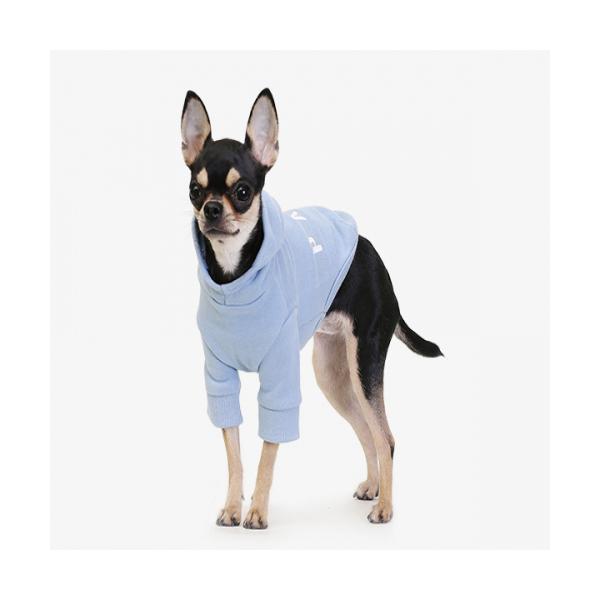 에이후디 블루 강아지옷 애견조끼