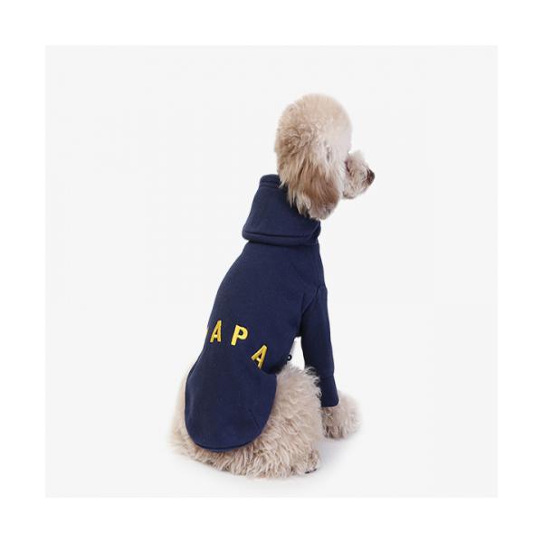 강아지옷 애견조끼 에이후디 네이비
