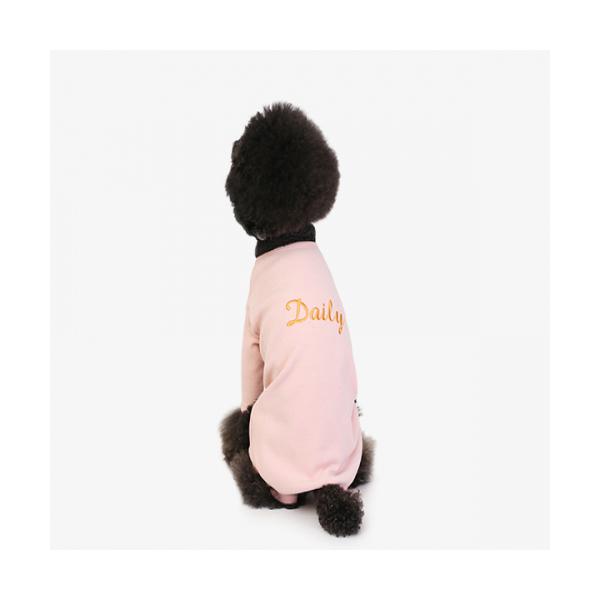 강아지옷 애견조끼 데일리 슈트 핑크