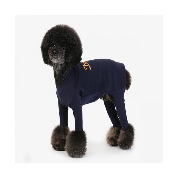 강아지옷 애견조끼 데일리 슈트 네비