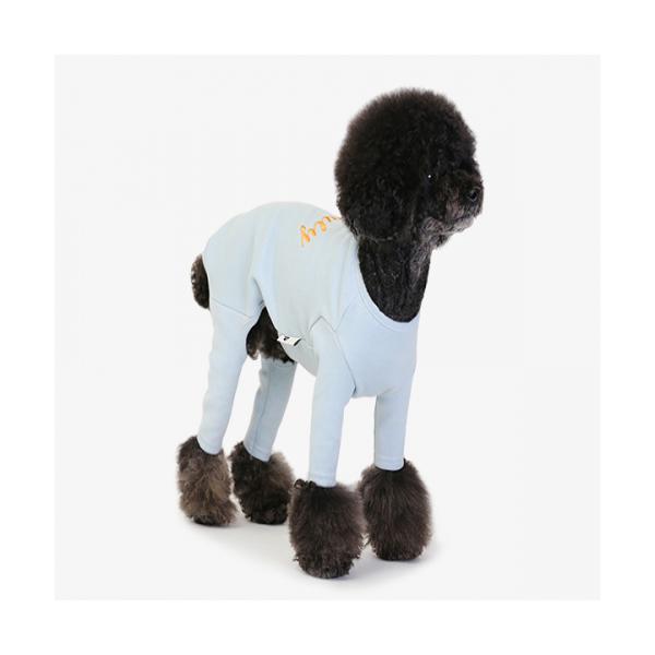 강아지옷 애견조끼 데일리 슈트 블루