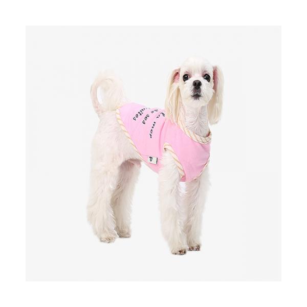 애견의류 강아지옷 핑크 라이팅