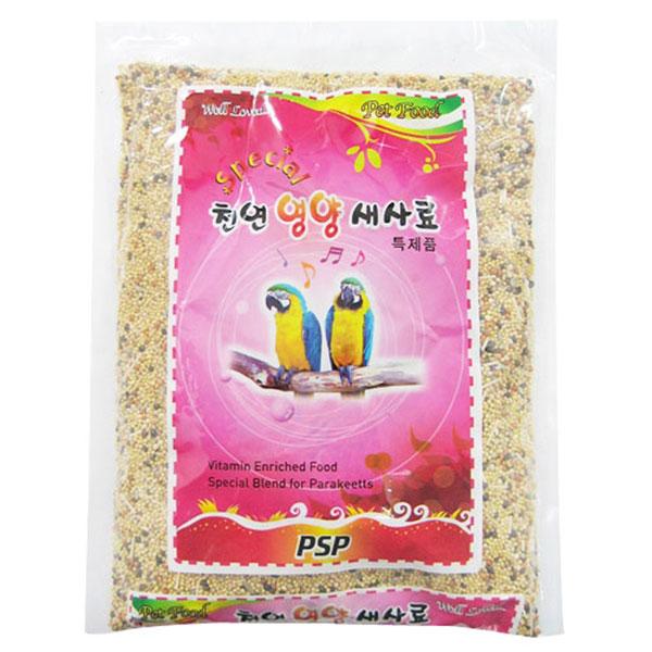 PSP 천연영양 새사료 600g