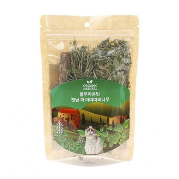 블루마운틴 캣닙과 마타타비 나무 30g