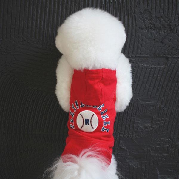 [플레이볼후드]baseball hood_Red