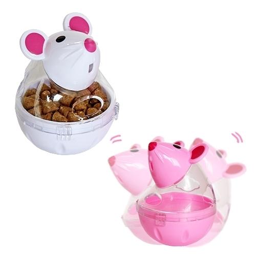 펫투유 우쭈쭈 쉐이킹 마우스 스낵볼