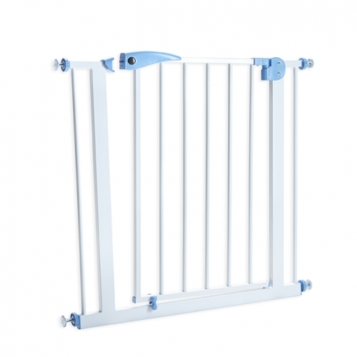 펫세이프 게이트 원터치 스틸 안전문 컴팩트형(65cm~77cm) & 확장패널