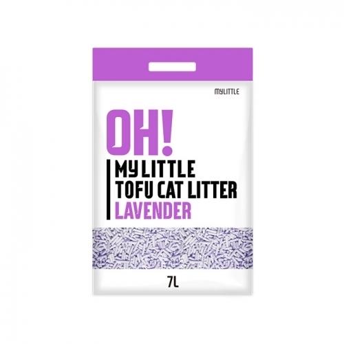 오마이 리틀 두부모래 라벤더 7L(2.8kg)