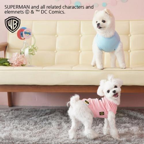 패리스독 배트맨 포인트티셔츠 강아지옷
